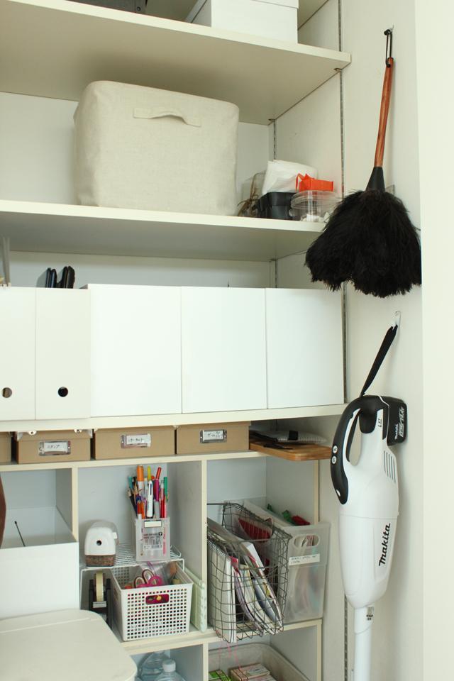大きなリビング収納を使いやすくする秘訣は、ゾーニングと収納用品にあった!