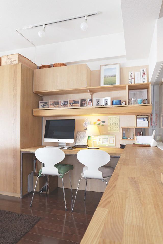 DIY予算30,000円!子どもが自分で整理整頓できる学習机