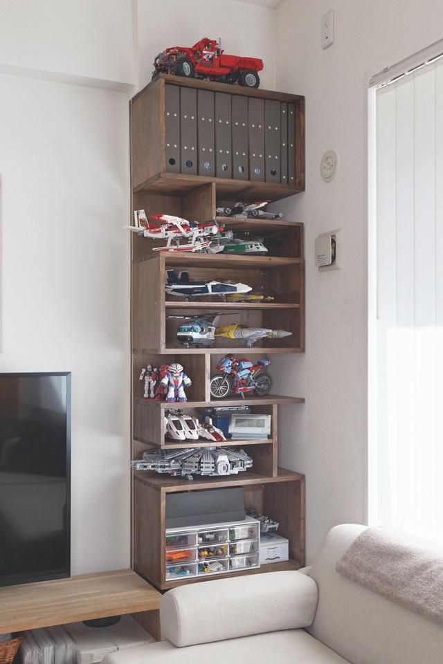 「レゴ」収納の悩みは、見て楽しめる「レゴ棚」で解決!