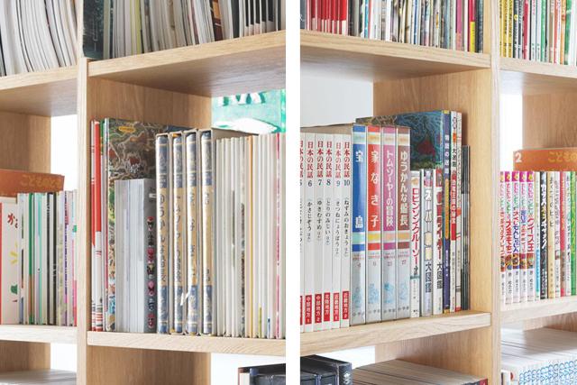 大型の本棚を置いても邪魔にならない「デッドスペース」はここ