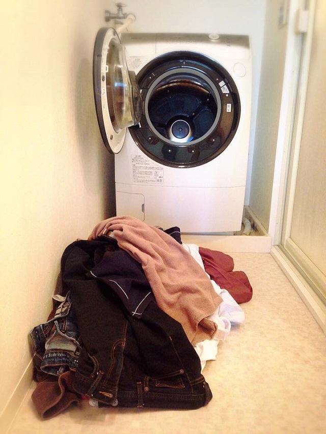 遠い・面倒・重い、三重苦の洗濯は3歩ですべてを終わらせよう