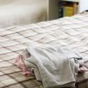 パジャマの一時置き問題は「くるっとポン」で即解決!
