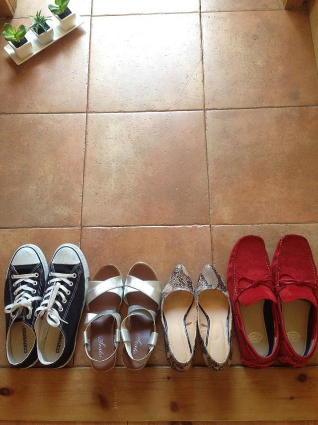 あふれてきた靴の収納は、分ける! 立てる!で即解決