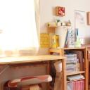 """子どもの文房具は""""ざっくりケース""""と""""見やすいラベル""""で収納する"""