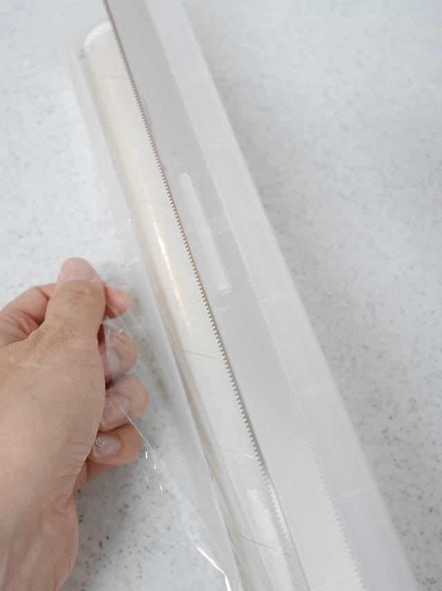 使いやすさを優先したラップの収納 ひと手間加えて自分好みに