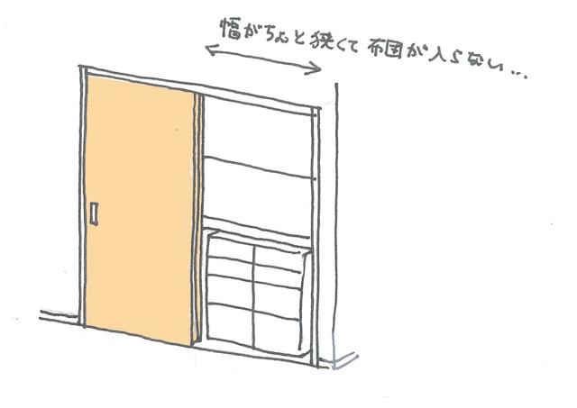 一般的な押入れは布団収納に不向き!? 本当に使いやすい「布団収納のカタチ」