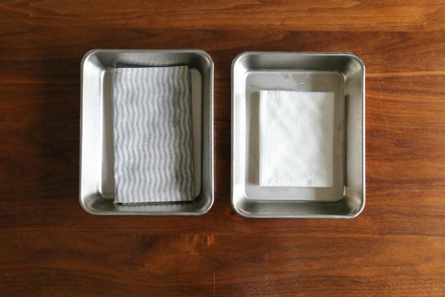 サイズは? 値段は? 吸水力は? 片づけのプロが愛用する使い捨てタイプの台ふきん3種を 比べてみた!