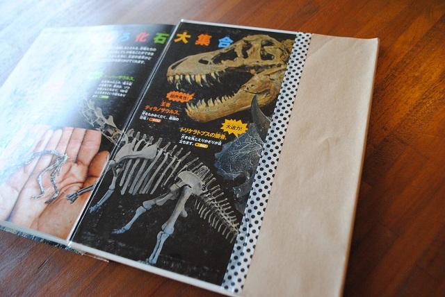 子どもがもっと図鑑を読みたくなる?! 見た目だけでなく機能もアップする簡単ブックカバーの作り方