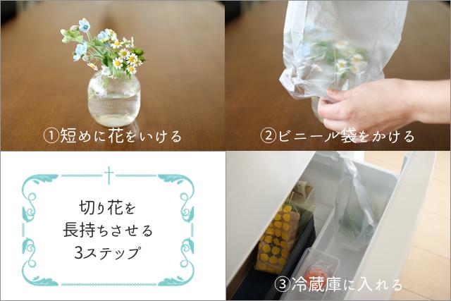 一年中切り花を楽しみたいあなたへ。簡単!すぐできる!マル秘?!テクニック
