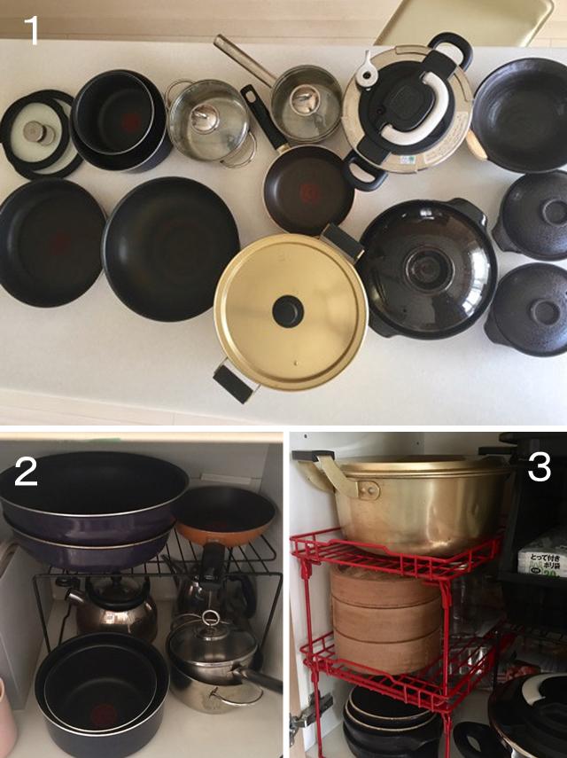 料理上手に聞く!「鍋と蓋の収納法」いくつ持ってる?どう収めてる?(その2)