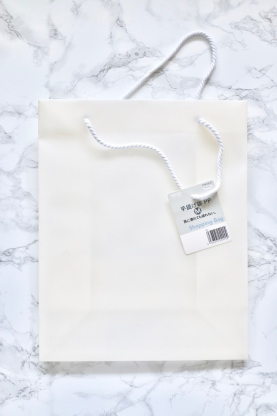片づけのプロが実践!「紙袋は収納に使えます!」あえてカインズの80円袋を買った理由