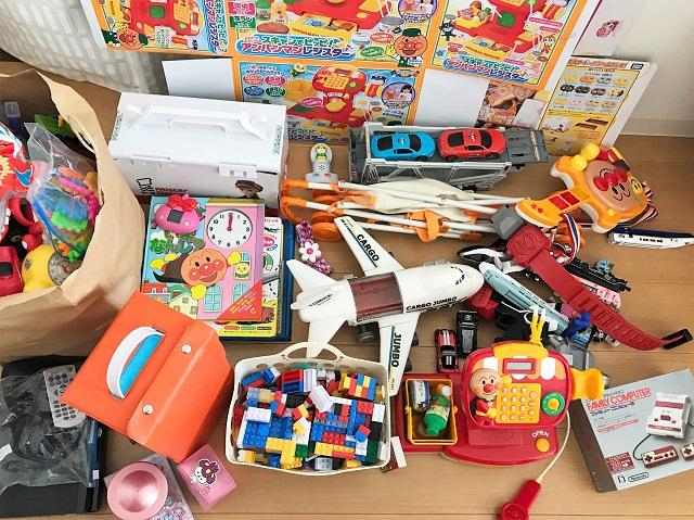 リユース!おもちゃを宅配買取に出してみました