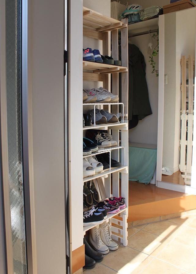 """子どもの靴収納問題 解決の秘訣は、""""家族へのヒアリング""""と""""お試し期間"""