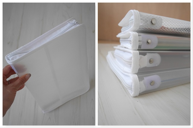 「ダイソー」の「ジッパーファイル」で紙類の管理を簡単に!アイデア3選