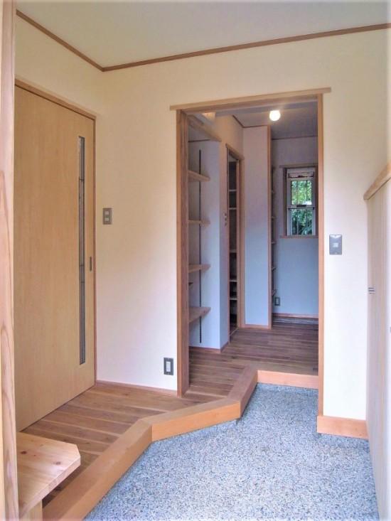 花粉を持ち込まない! 鍵は玄関と廊下の間の●●●にあり!