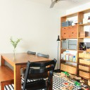 片付けやすいおもちゃ収納と散らかりづらい家具配置