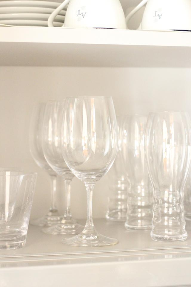 簡単&取り出しやすいグラス収納