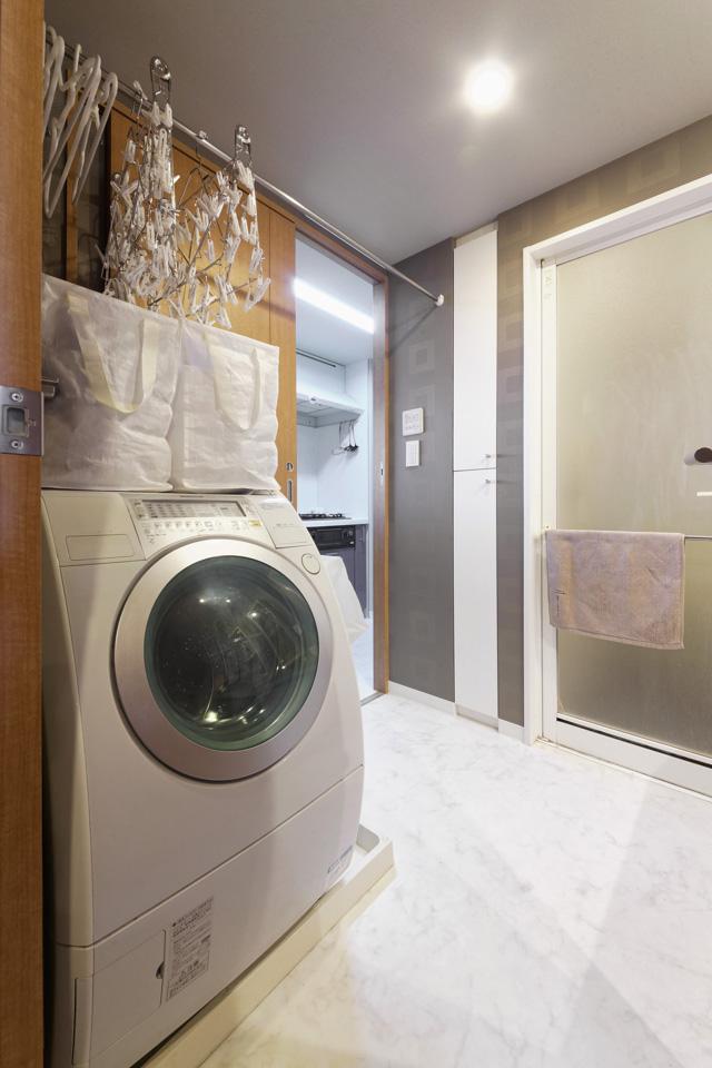 家族3人にランドリーバッグ3つ! 洗濯がラクになるアイデア