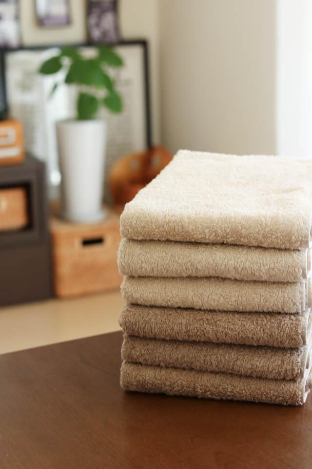 毎日の洗濯がらくちん&時短になるタオル選び