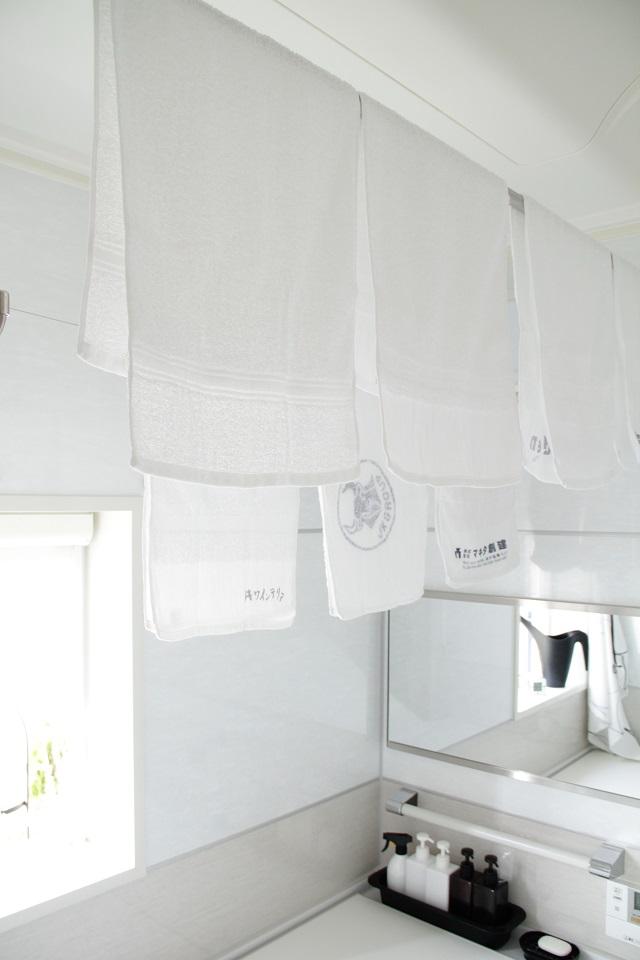 お風呂あがりに使うタオルはバスタオル?フェイスタオル?
