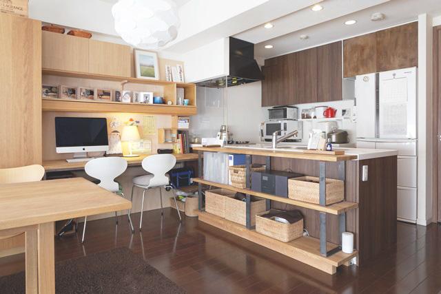 「デッドスペース」を活用して、キッチンで料理しながら●●する!
