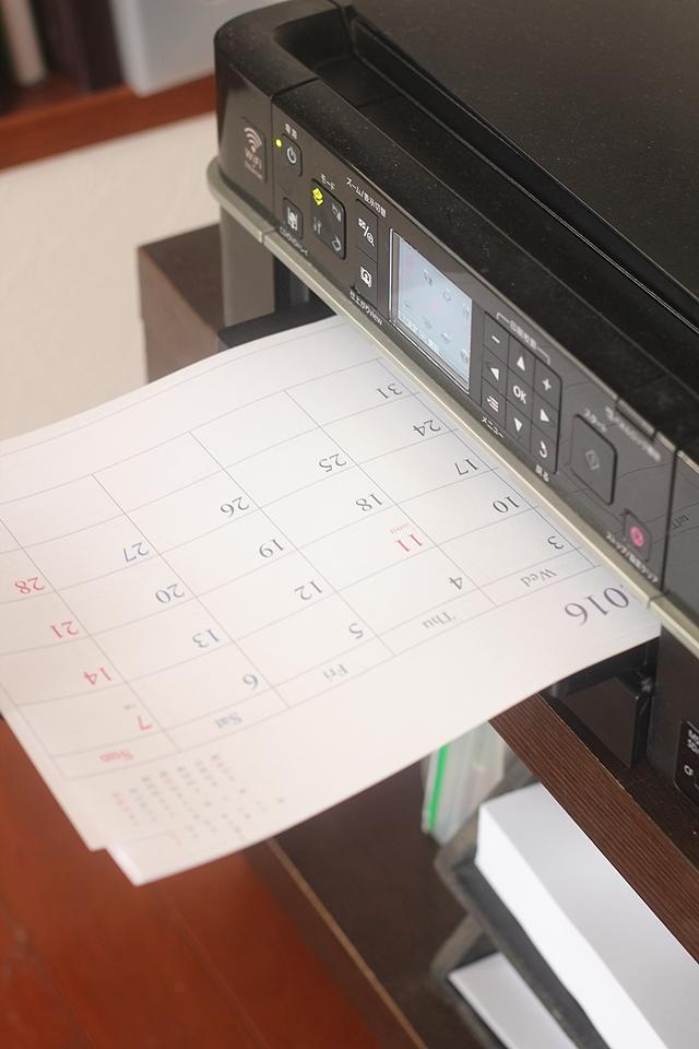 """学校の年間予定を書き写した手作りカレンダーで、中学生の""""時間意識""""を育てる"""