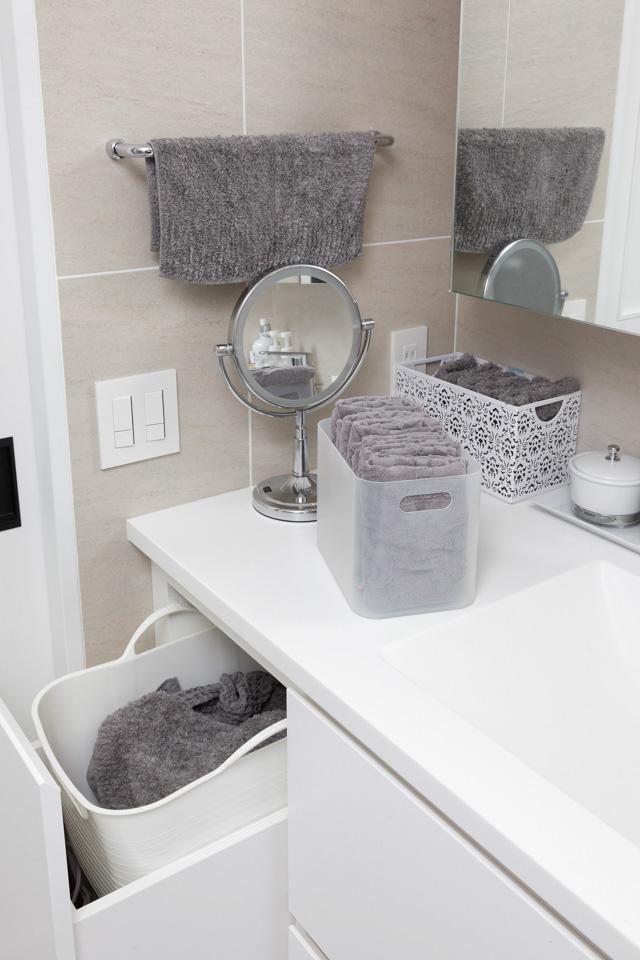 いつでも、だれでも、気持ち良く使える洗面所の仕組み