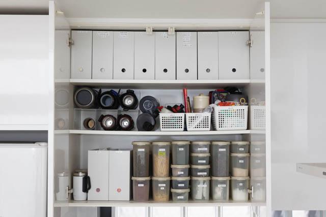 キッチンツールは使用頻度から収納場所を決めて