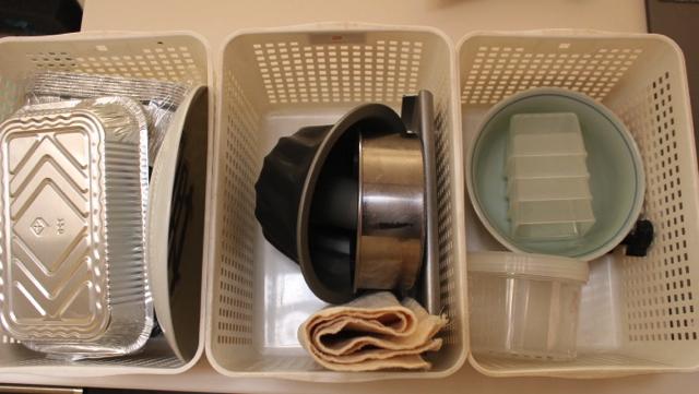 キッチン収納、使い良さで選ぶなら100均カゴ2種でOK!