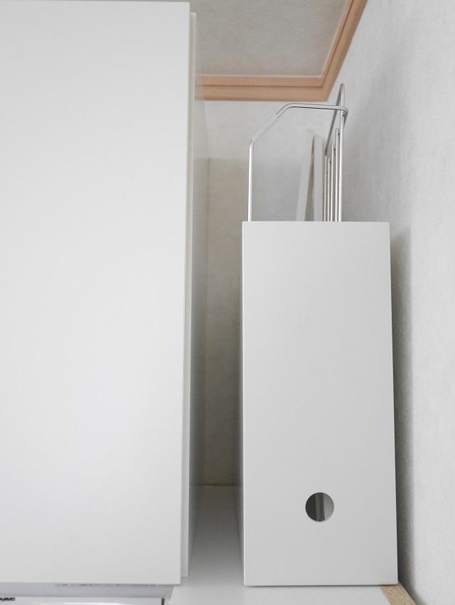 ファイルボックスは書類収納以外にも使えます! 洗面所での使い方は?