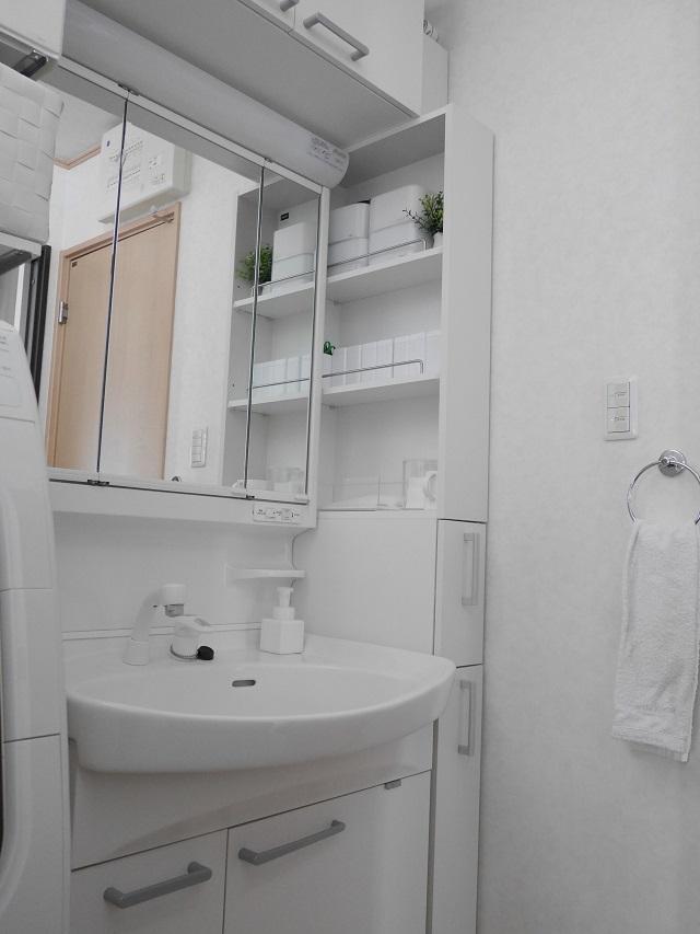 1時間でできる!自宅オーガナイズ いつのまにか溜まった試供品も見直してすっきりした洗面所に!