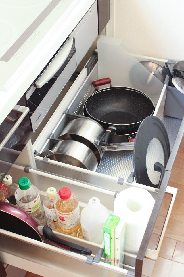 システムキッチンの収納スペース、調理スペースを最大限に活用できる「オプション」とは?