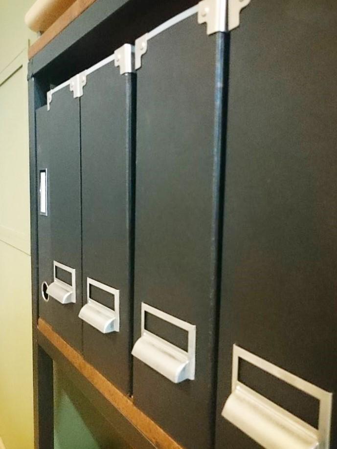 ファイルボックス3変化! 同じ形でも使い方次第で見た目と機能が変わります