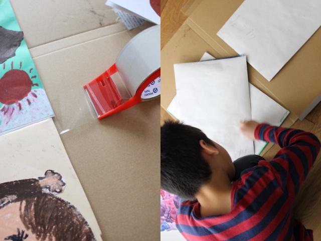 「 えっ、作れるの?」 増える一方の子どもの作品を自分で「作品本」にしてみよう!
