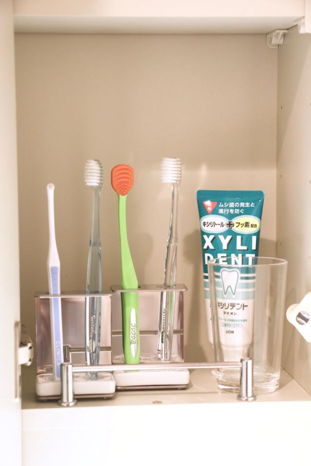 使い勝手と見た目、どちらもラクに良くしたい! 洗面所のミニスペースを欲張りオーガナイズ