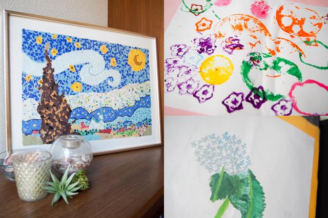 子どもの作品をスッキリ飾って楽しみたいあなたに! 作品にも衣替え制度を導入しよう