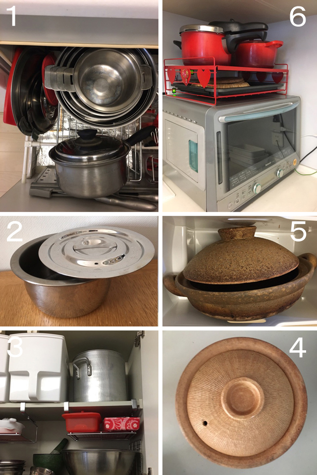 料理上手に聞く!「鍋と蓋の収納法」いくつ持ってる? どう収めてる?(その1)