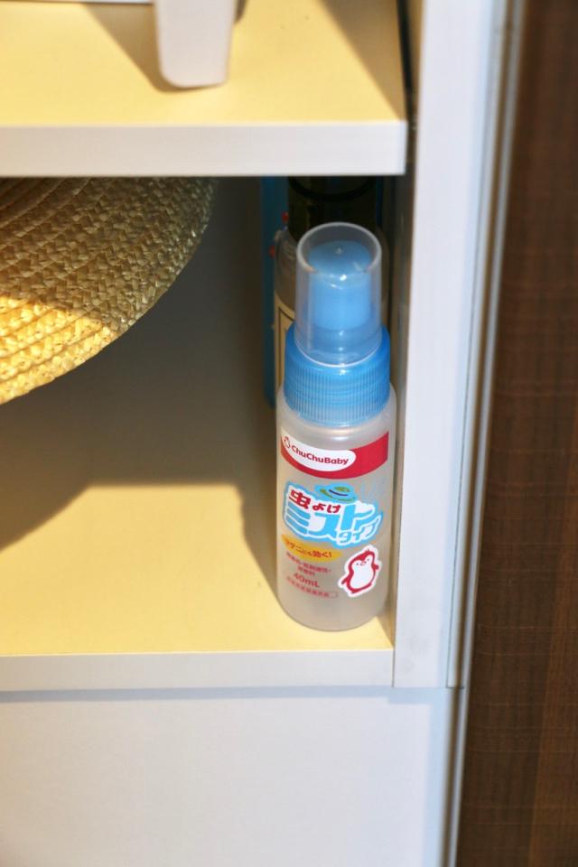 帽子や虫よけスプレーは夏のお出かけマストアイテム!バタバタしても忘れない収納法とは?