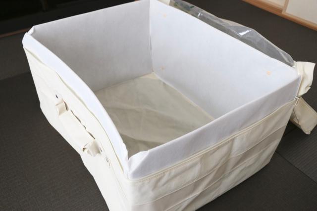 使いやすい布団収納を考えたら、「ニトリ」のコンパクトふとん収納バッグがぴったりでした!