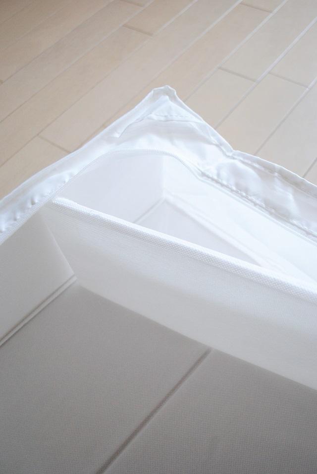 布団収納の新しい定番?!IKEAの収納ケースで「出し入れしやすく・扱いやすく・美しい」を実現!