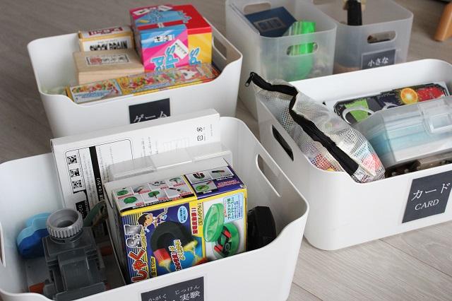 """子どもが戻せるおもちゃ収納は、""""ラベル""""と""""ザックリ""""がキーワード"""