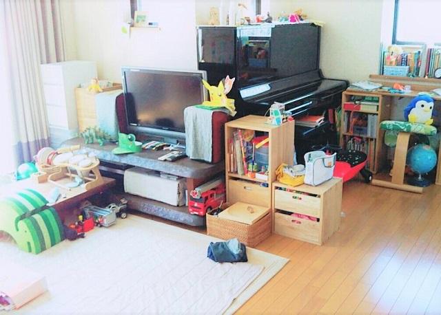 リビングに子どものモノがどんどん増えていく…。すっきり落ち着く空間にするには?【教えて!ライフオーガナイザー(5)】