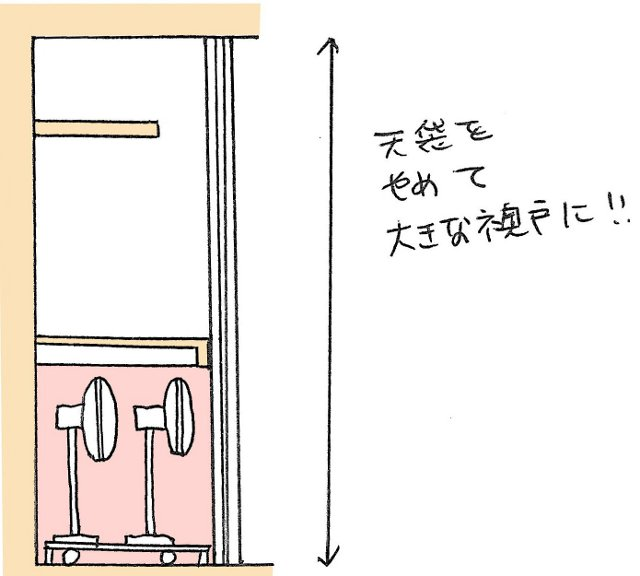 押入れを季節家電の定位置にするためのたった1つのコツ