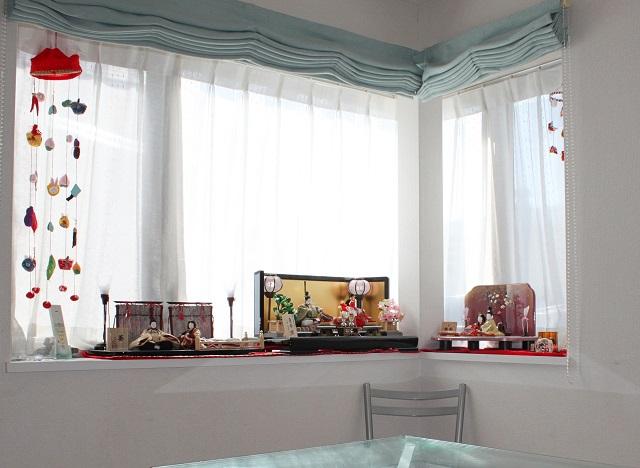 3姉妹がいる家のお雛様 優先するのは飾る場所? 飾りたい気持ち?
