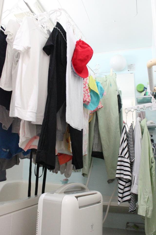 浴室乾燥の「干しきれない・乾かない」は、道具で解消!