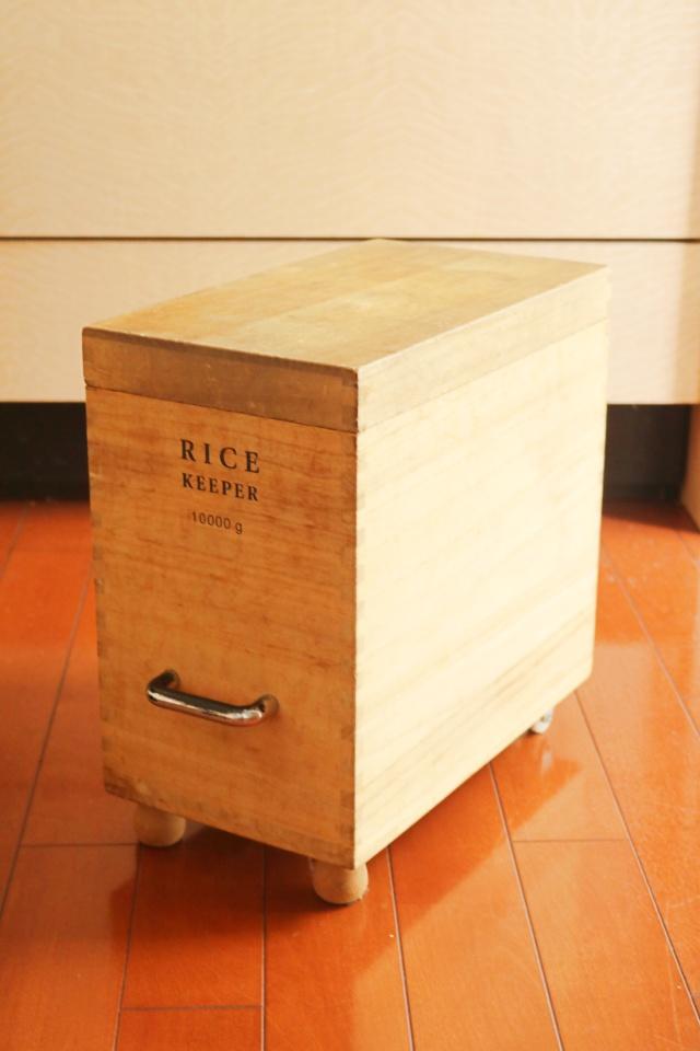 お米の収納はどうしてる? 20年変わらなく使い続けている「桐の米びつ」