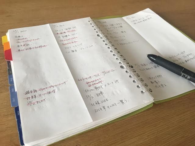 【手帳の選び方・使い方】苦手なタスク管理を克服!コクヨの薄型バインダーで情報満載のミニマムな手帳が完成