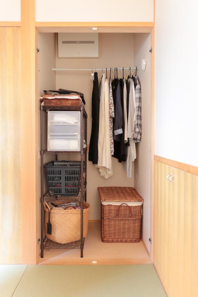 半間の押入れをクローゼットに。お気に入りの服が出し入れしやすい秘密とは?