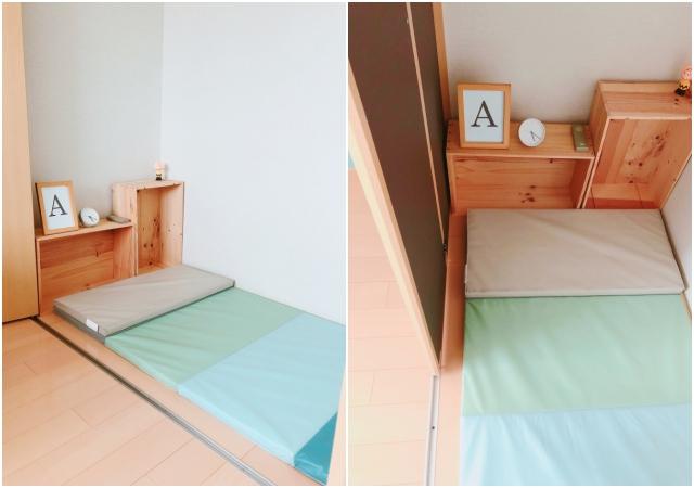 クローゼットが大変身!子どもが喜ぶ秘密基地風ベッドの作り方