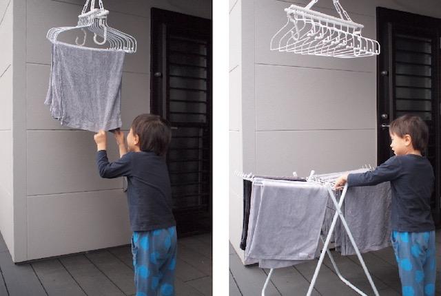 子どもが手伝いやすい!タオルのズボラ収納から生まれたうれしい効果